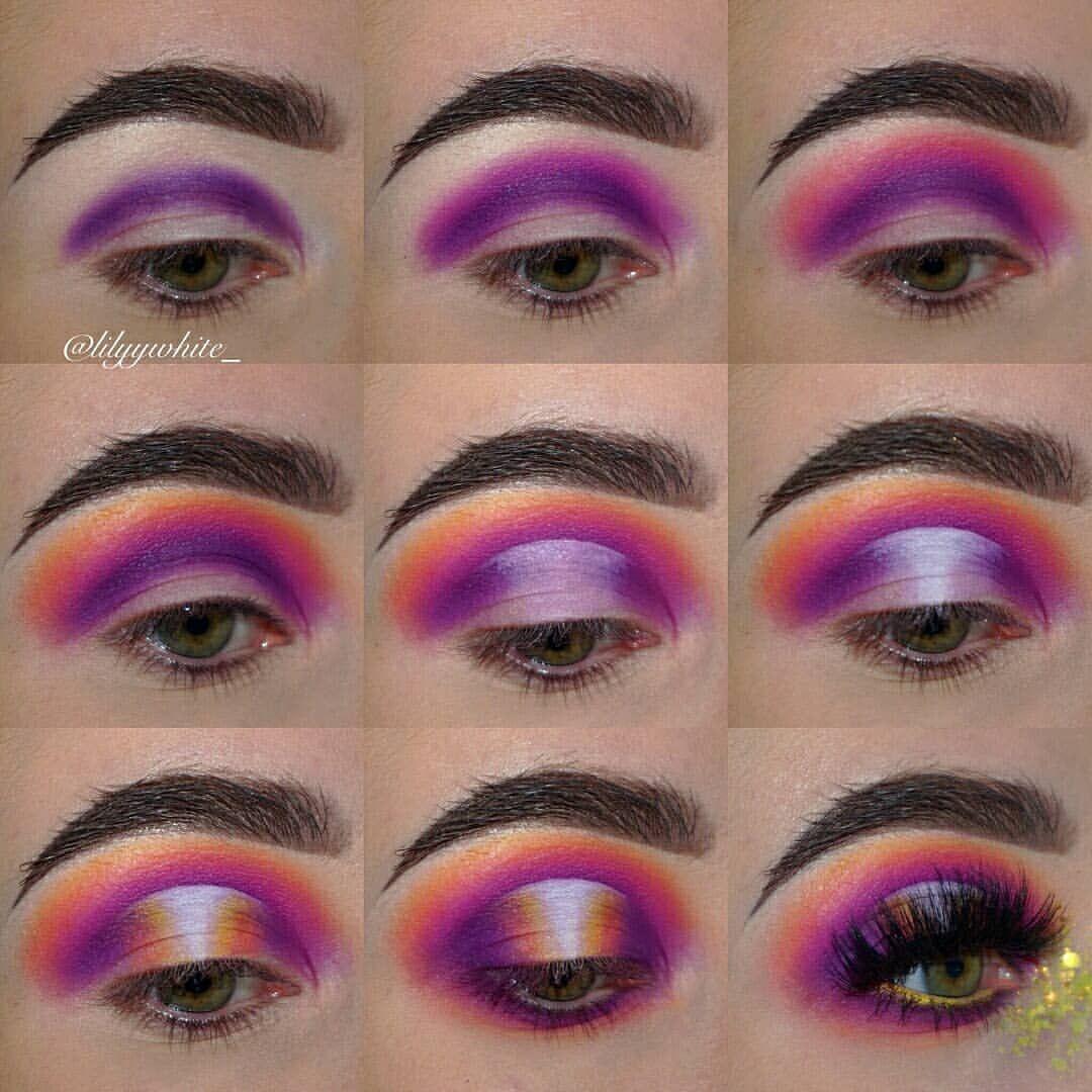 Gorgeous Pictorial Lilyywhite Admi Rainbow Eye Makeup