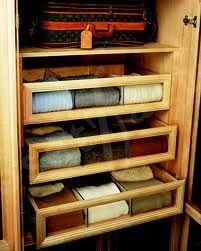 Sweater Storage Drawer In A Closet Closet Hacks Organizing