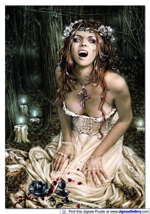 Victoria Frances Favole Sticker Decal Vampire Girl NEW