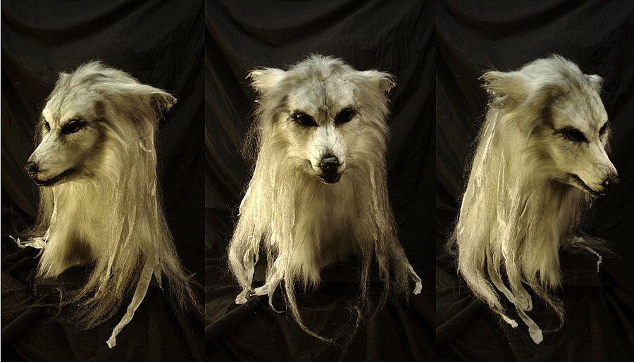 The Howling Ghost - Mask by Qarrezel.deviantart.com on @DeviantArt