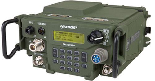 AN/PRC-117G Wideband Tactical Radio | ANW2 | Harris RF