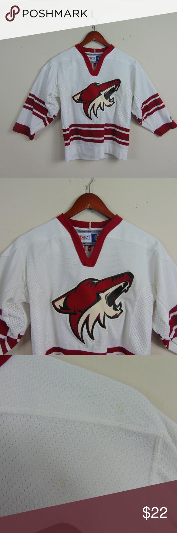 huge sale c2371 90b0f Arizona Coyotes Youth S/M Sewn Hockey Jersey Arizona Coyotes ...