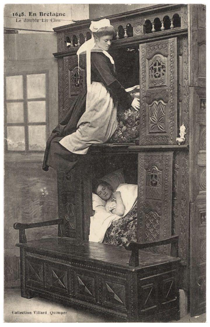 un box lit ou lit ferm est un lit enferm dans un meuble qui ressemble un placard mi. Black Bedroom Furniture Sets. Home Design Ideas