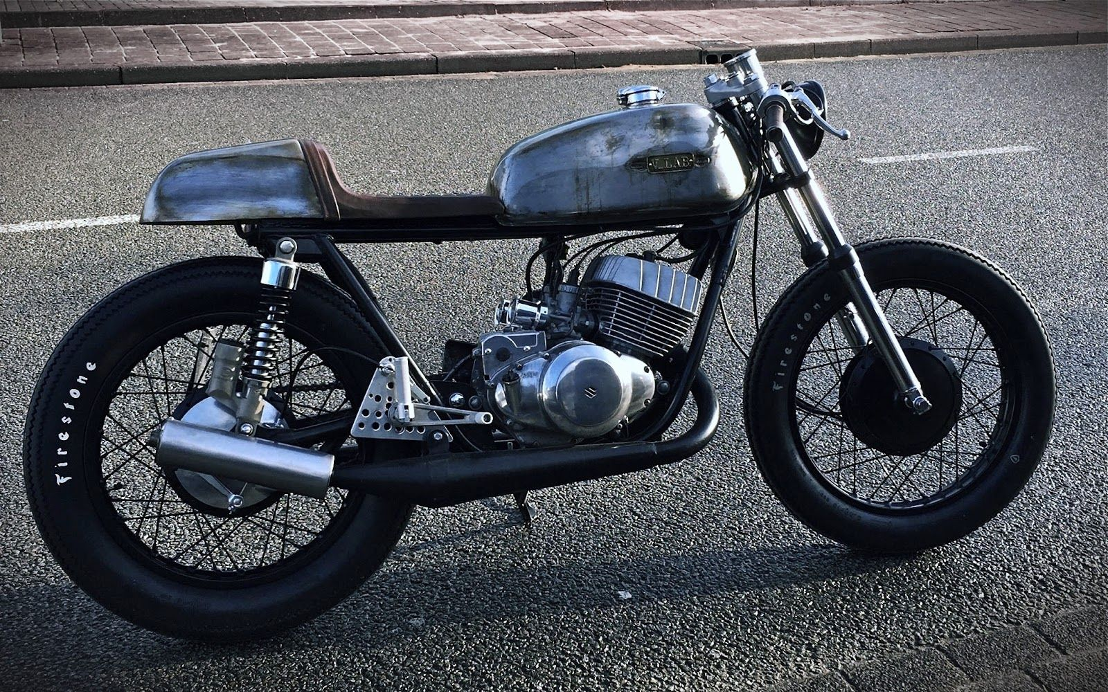 "GOOD SPEED CUSTOM # 1969 Suzuki T350 ""Suzy"""