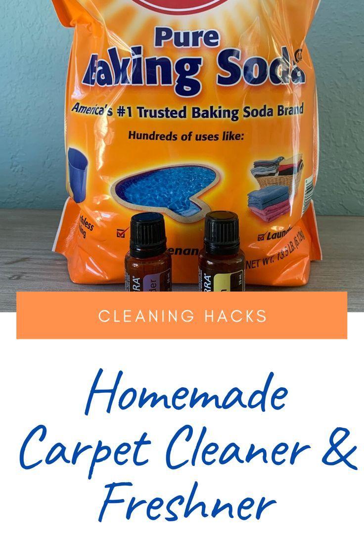 Homemade Carpet Cleaner Freshener Diy Cleaning Hacks In 2020 Carpet Cleaner Homemade Carpet Cleaners Carpet Baking Soda