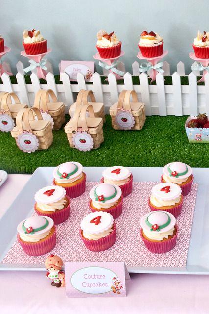 """Photo 18 of 25: Strawberry Shortcake / Birthday """" Strawberry Shortcake Party""""   Catch My Party"""