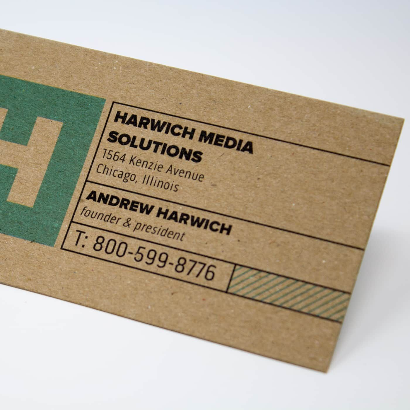 Kraft Paper Business Cards Eco Friendly Cards Vistaprint Kraft Business Cards Printing Business Cards Eco Friendly Business Cards