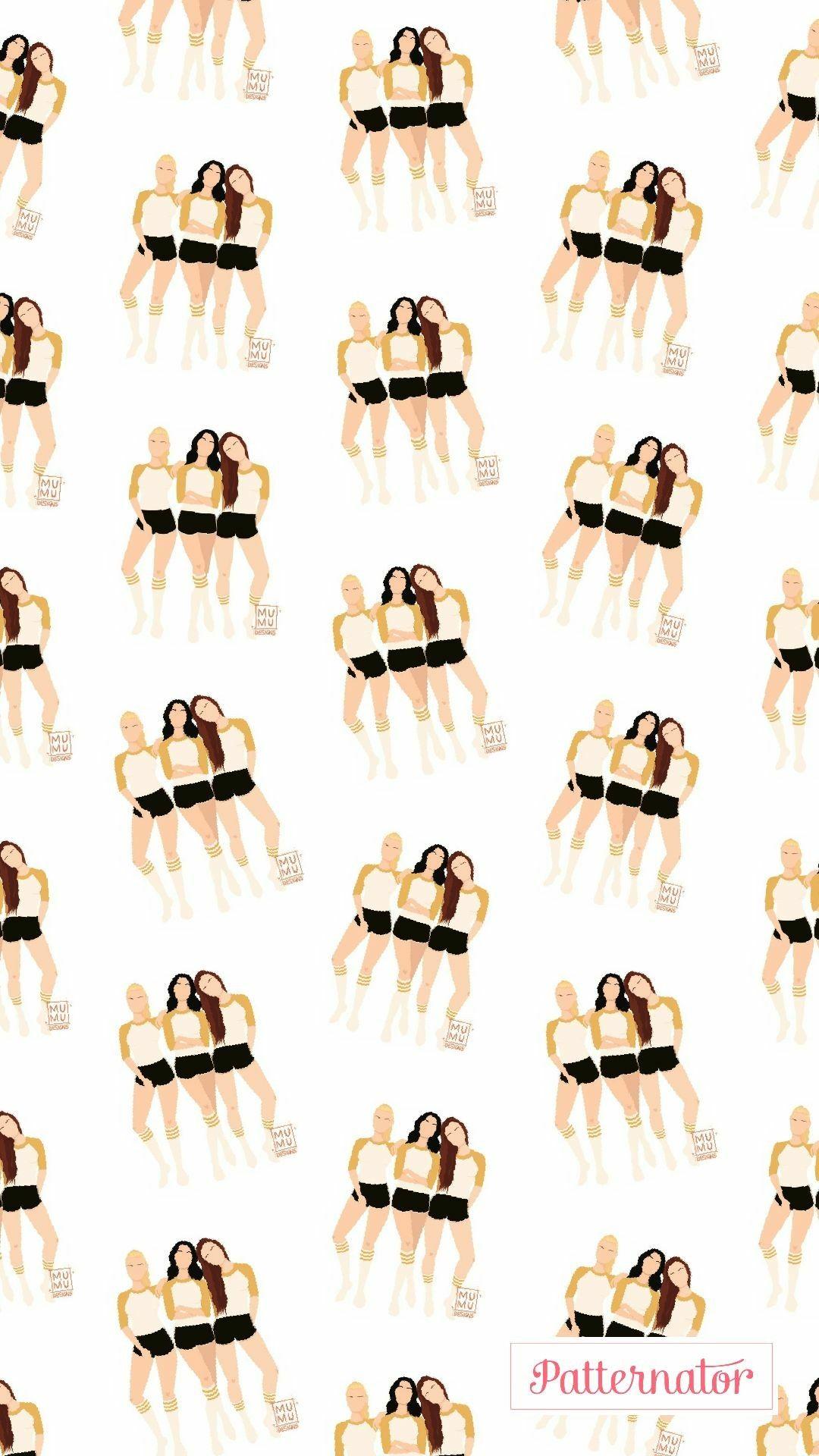 Wallpaper Riverdale Girls 2 Papel de parede do