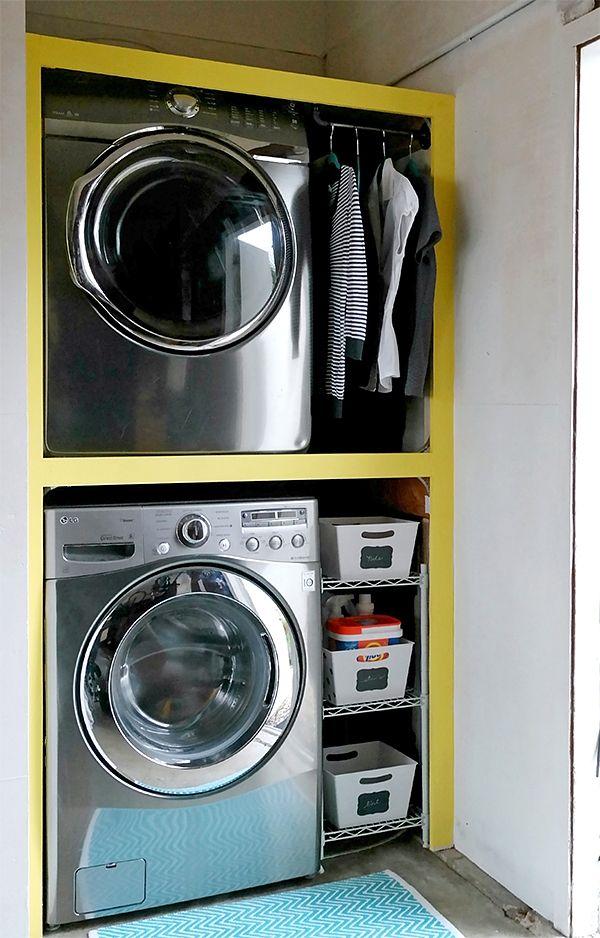 Building A Garage Laundry Nook