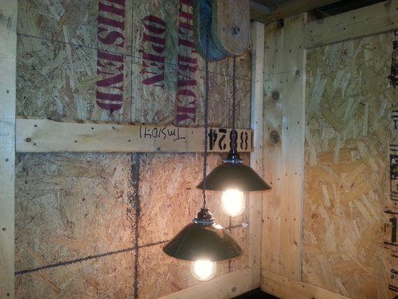 Shop Millennium Lighting 3 Light Neo Industrial Rubbed: Granero La Polea Colgante De Luz