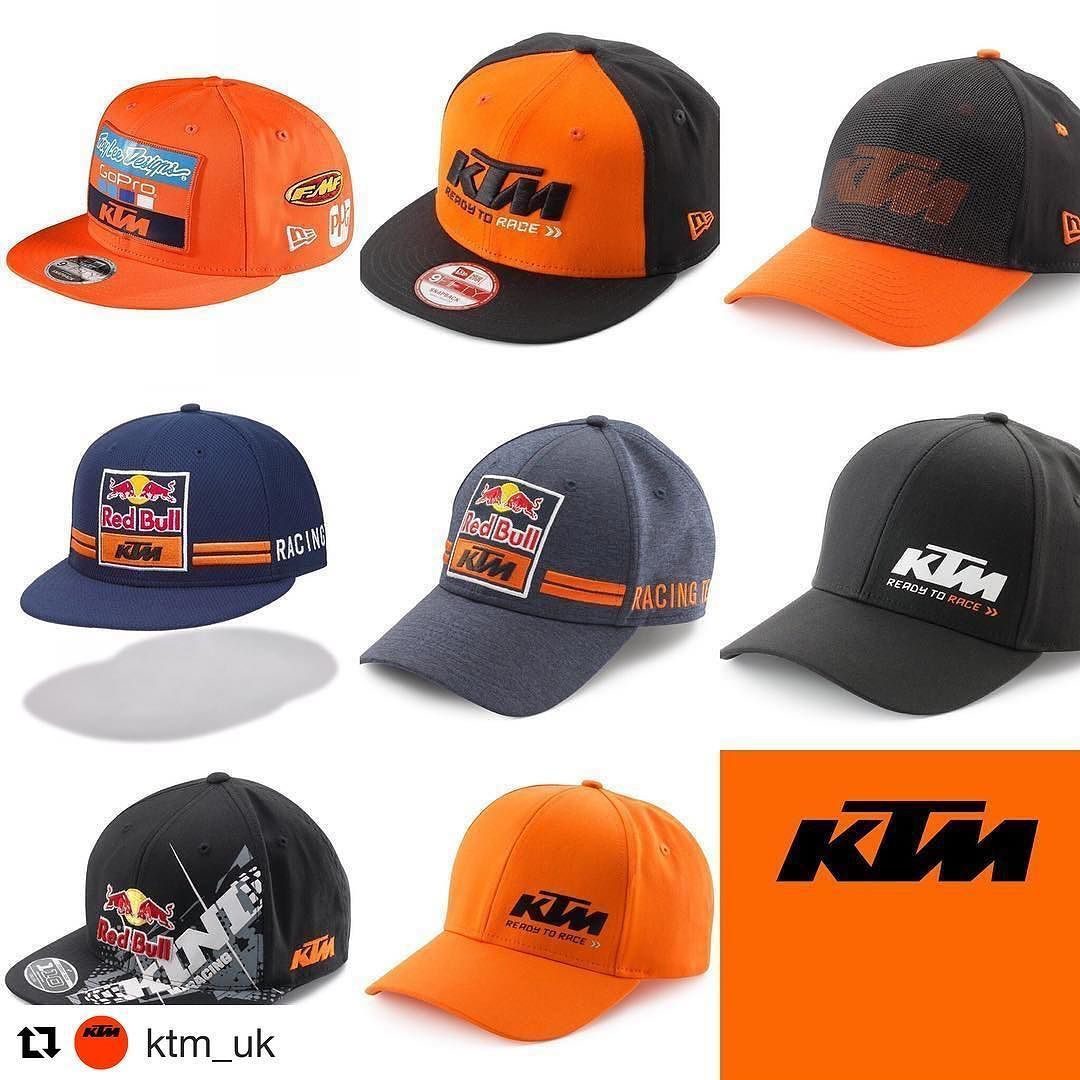 Show the World youre  ReadyToRace with a great selection of  KTM hats  smcbikes. 9566c66c617