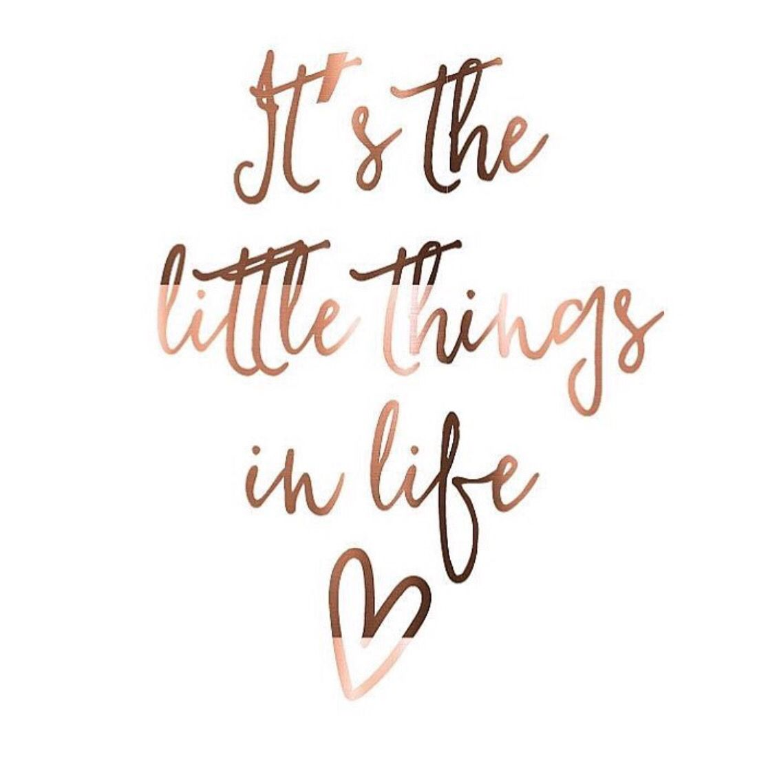 Girly Quotes Cool It's The Little Things That Matter The Most Quotes  Motivational .