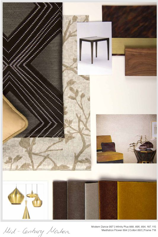Zimmer Rohde - moodboard 2016 Behang, meubel- en gordijnstoffen te ...