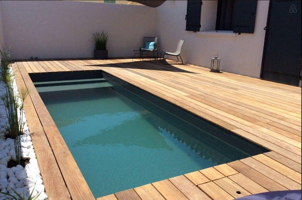 Pin By Bourganel Muriel On Future Pool Ideas Backyard Pool Small Backyard Pools Diy Swimming Pool
