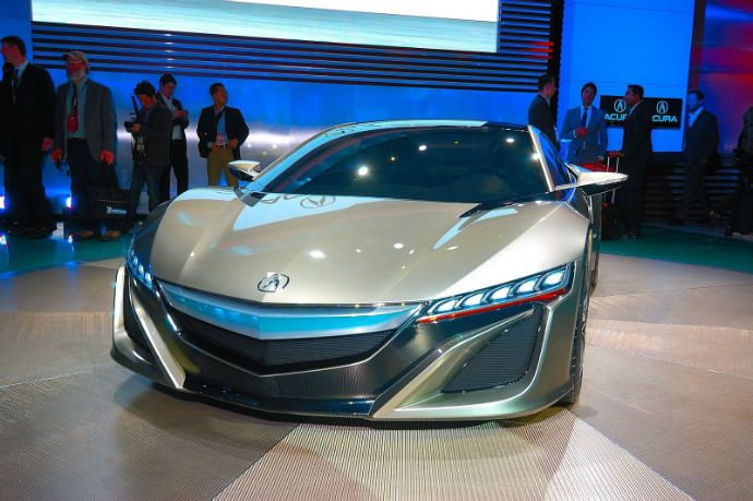 2016 Acura Nsx Colors