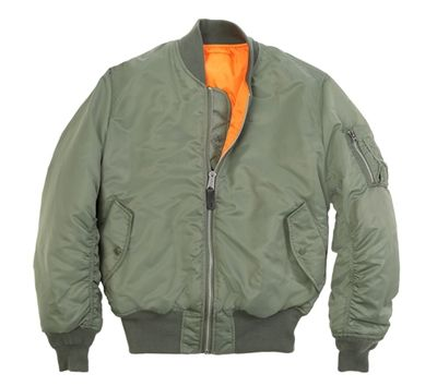 b96b236aefc Alpha Industries MA-1 Flight Jacket - MJM21000C1. classic jacket made by  alpha industries for the military for over 40 years.