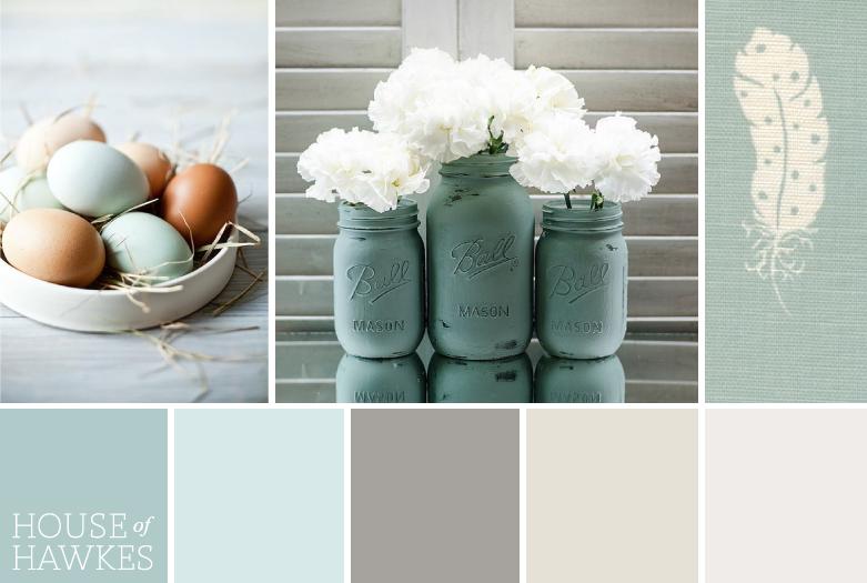 Нежный и благородный цвет утиного яйца | кольори | Duck ...