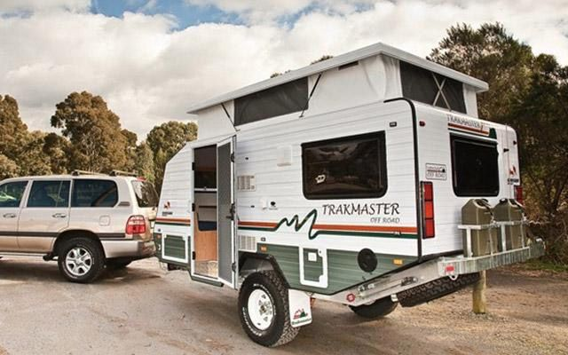 Trakmaster Gibson Compact Rugged Off Road Caravan Camp TrailersTravel TrailersExpedition TrailerTeardrop