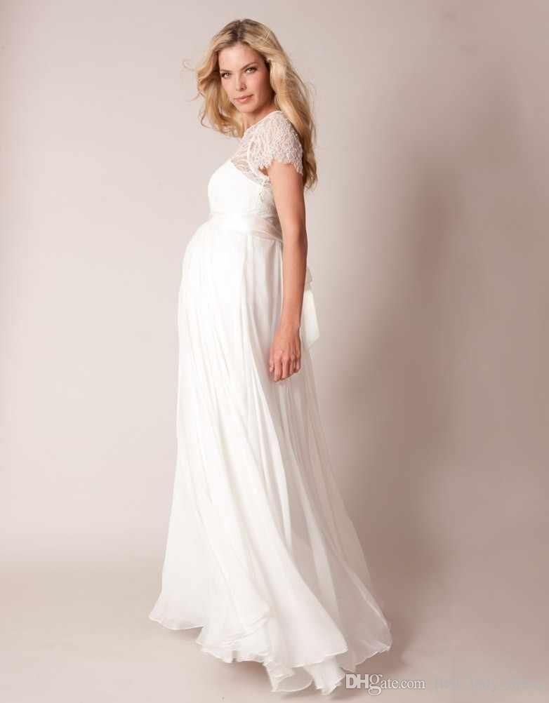 Cheap maternity wedding dress discount vintage short