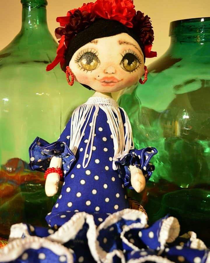 🏵️Mi niña flamenca🏵 💃💃 #doll #handmadedoll #flamenco ...