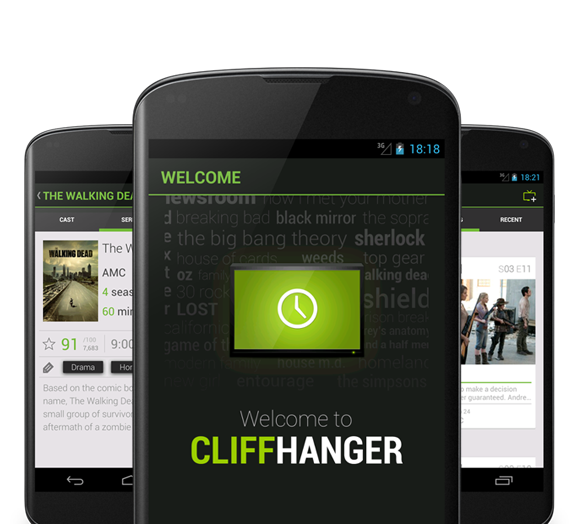 Cliffhanger Android App Track Your Tv Android Apps Black Mirror App
