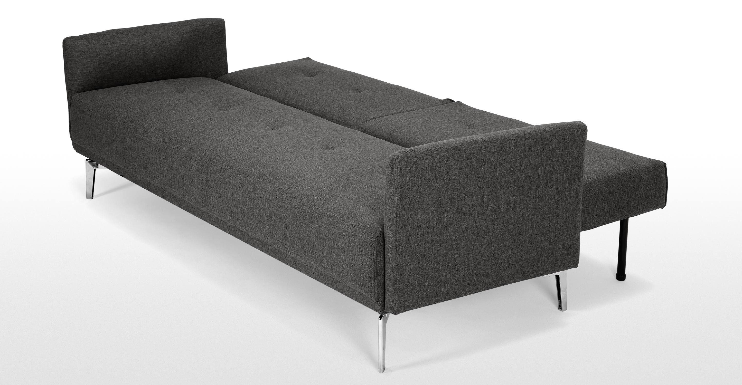 Quality Sofa For Less Akio Canapé Convertible Gris Taupe Made Home