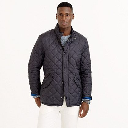Leading the fight against inclement weather (from a country that ... : barbour chelsea quilt - Adamdwight.com