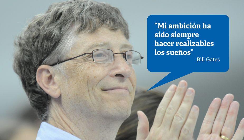 Bill Gates: 12 frases que resumen la filosofía de uno de los hombres más ricos del mundo