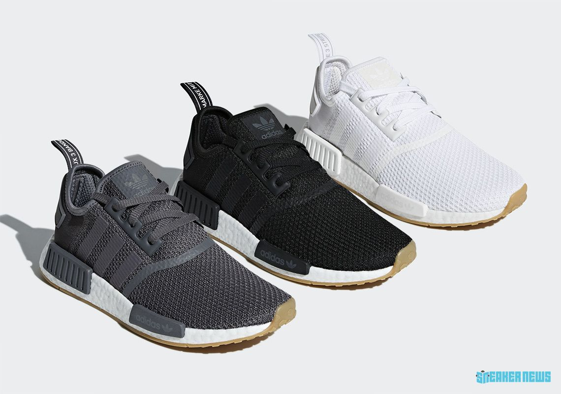 adidas NMD R1 Gum Sole Pack Release Info  thatdope  sneakers  luxury  dope   fashion  trending 22e63c2b7