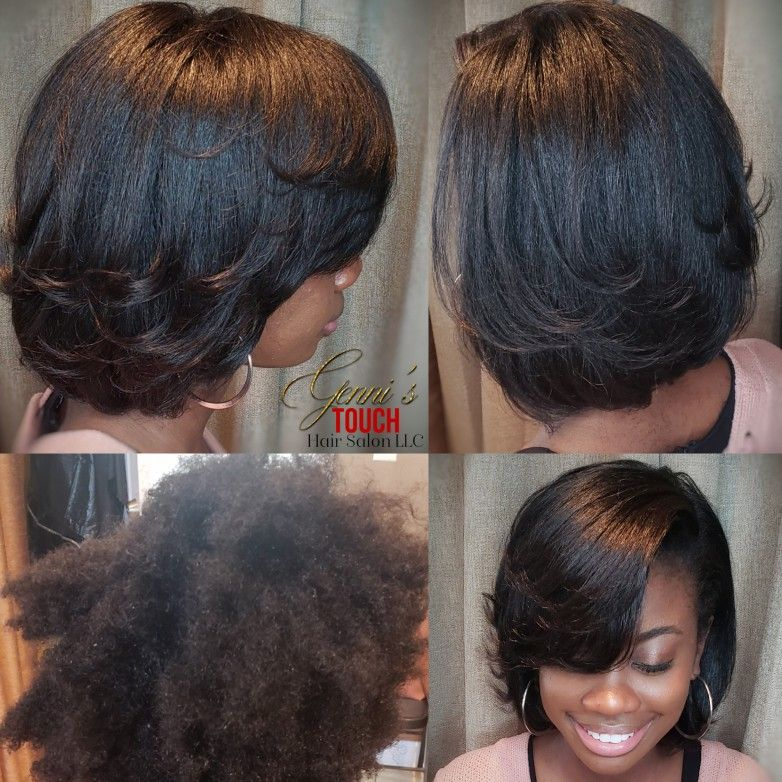 Silkpress Makeover Natural Hair Styles Stylists Hair Salon