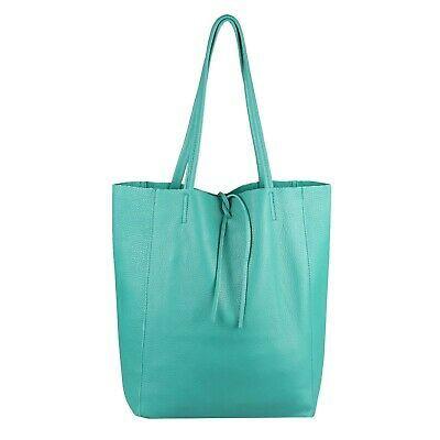 Photo of ITAL LADIES LEATHER HAND BAG A4 Shopper Tote Bag Tote Bag Shoulder Bag …