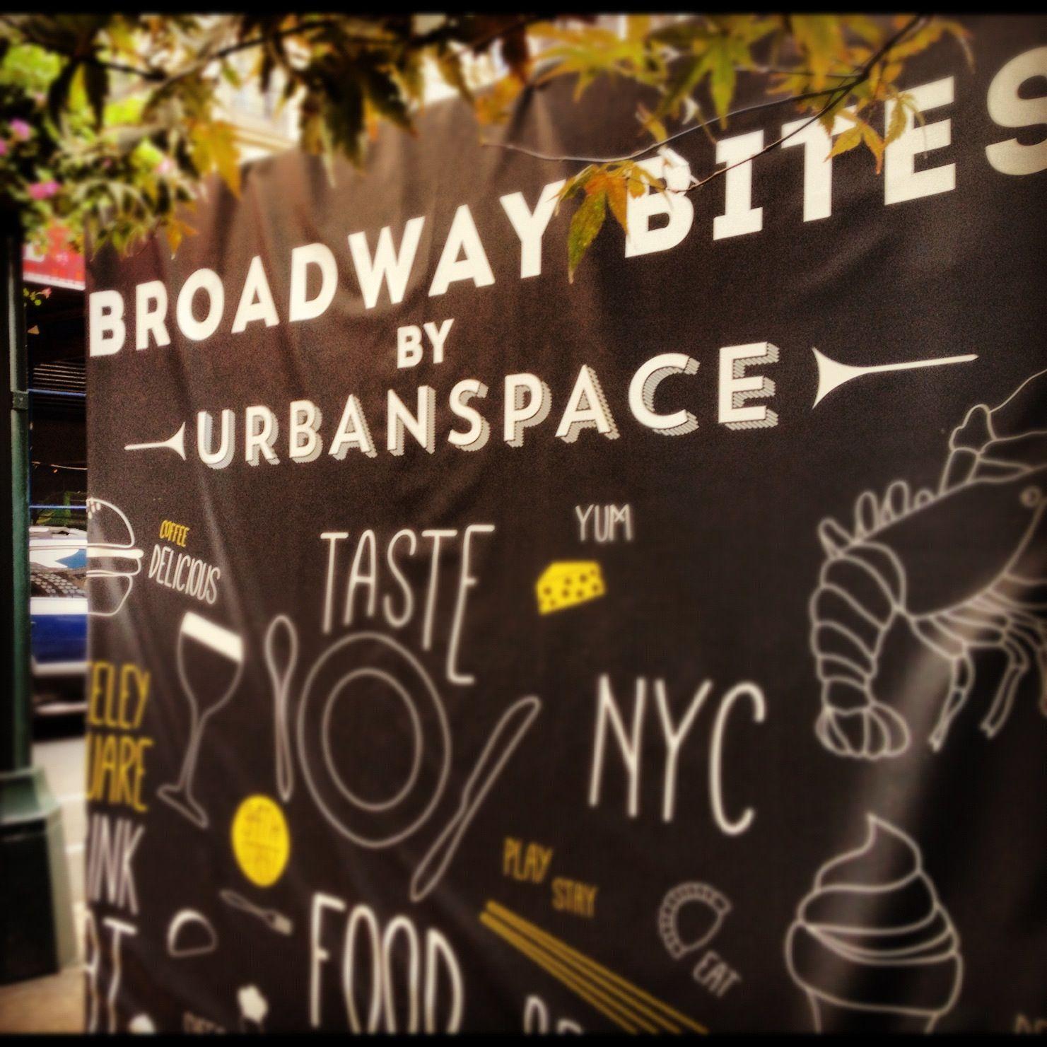 Broadway bites food festival greeley square new york