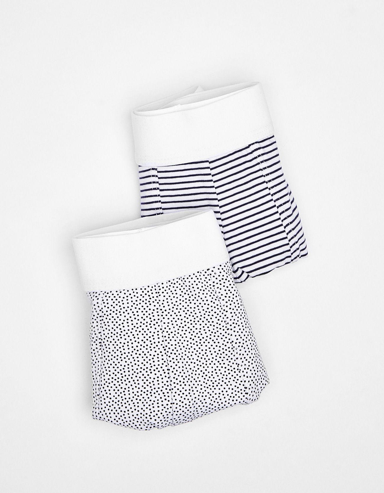 Pack 2 boxer rayas y topos. Descubre ésta y muchas otras prendas en Bershka  con nuevos productos cada semana 2c996d4894cd