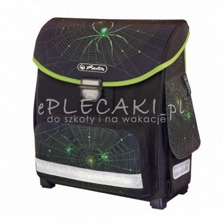 Tornister Z Pajakiem Czarny Z Zielonym Dla Chlopaka Herlitz Camera Bag Bags Backpacks