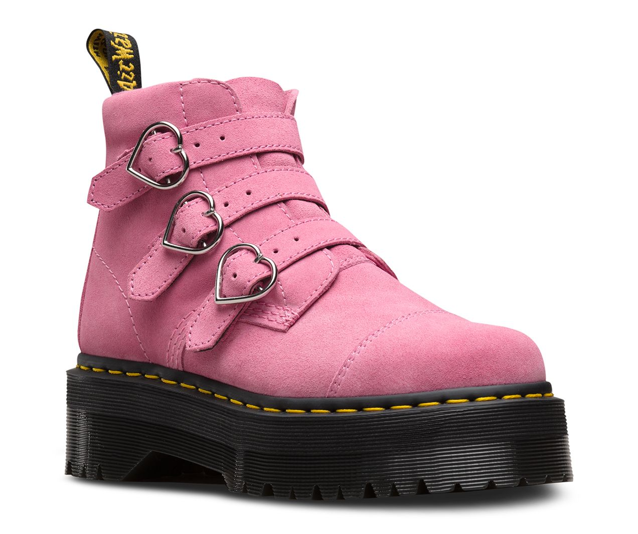 Dr martens lazy oaf buckle boot in 2020 | Women shoes