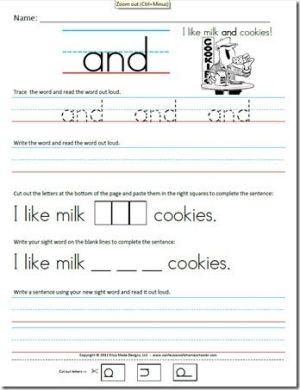 worksheet. Free Sight Word Worksheets. Grass Fedjp Worksheet Study ...