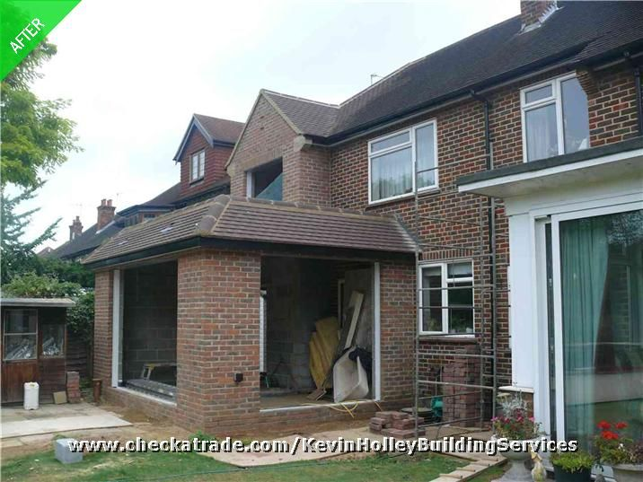 Major House Extension With New Bedroom Garage And Rear Single Storey Extension House Extensions Garage Extension House Front