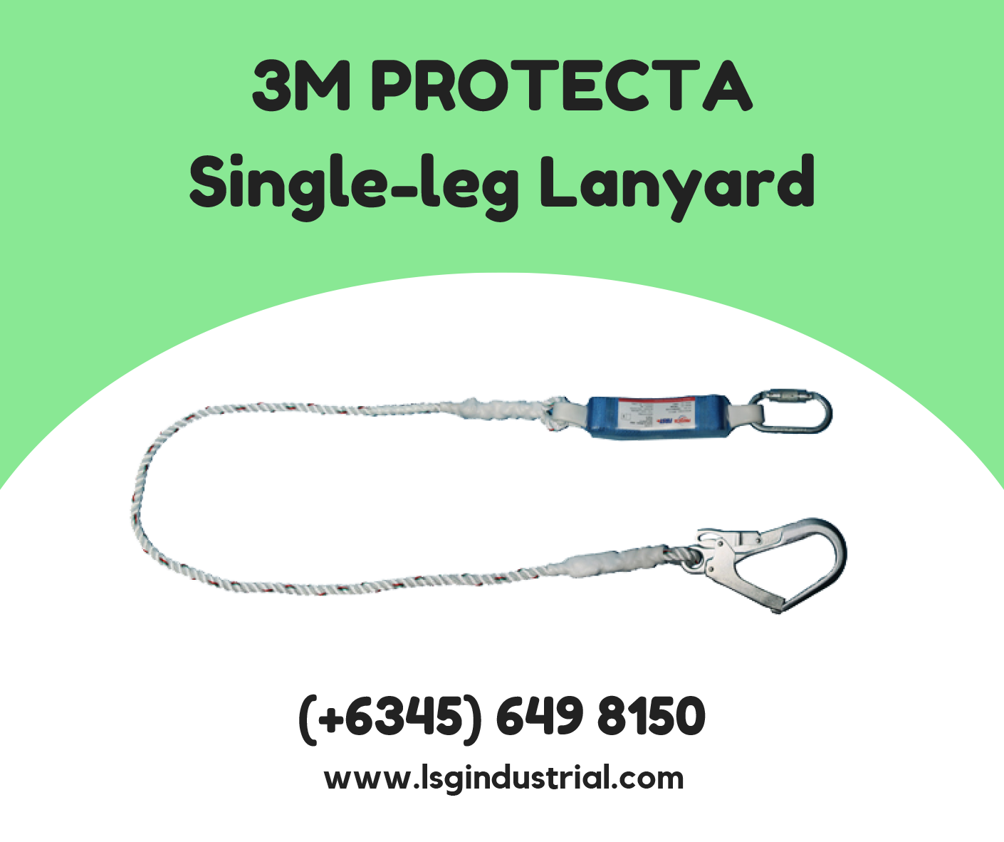 Order this awesome 3M Single Leg Shock Absorbing Rope