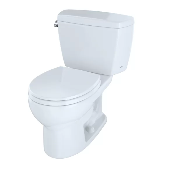 Drake Two Piece Round 1 6 Gpf Toilet Sedona Beige Seat Not Included One Piece Toilets Toto Bidet Seat