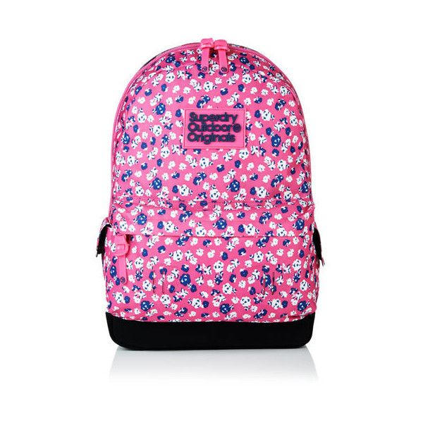 91f40e1f2b5f0 Superdry Ms Ditsy Montana Rucksack (£39) ❤ liked on Polyvore featuring  bags