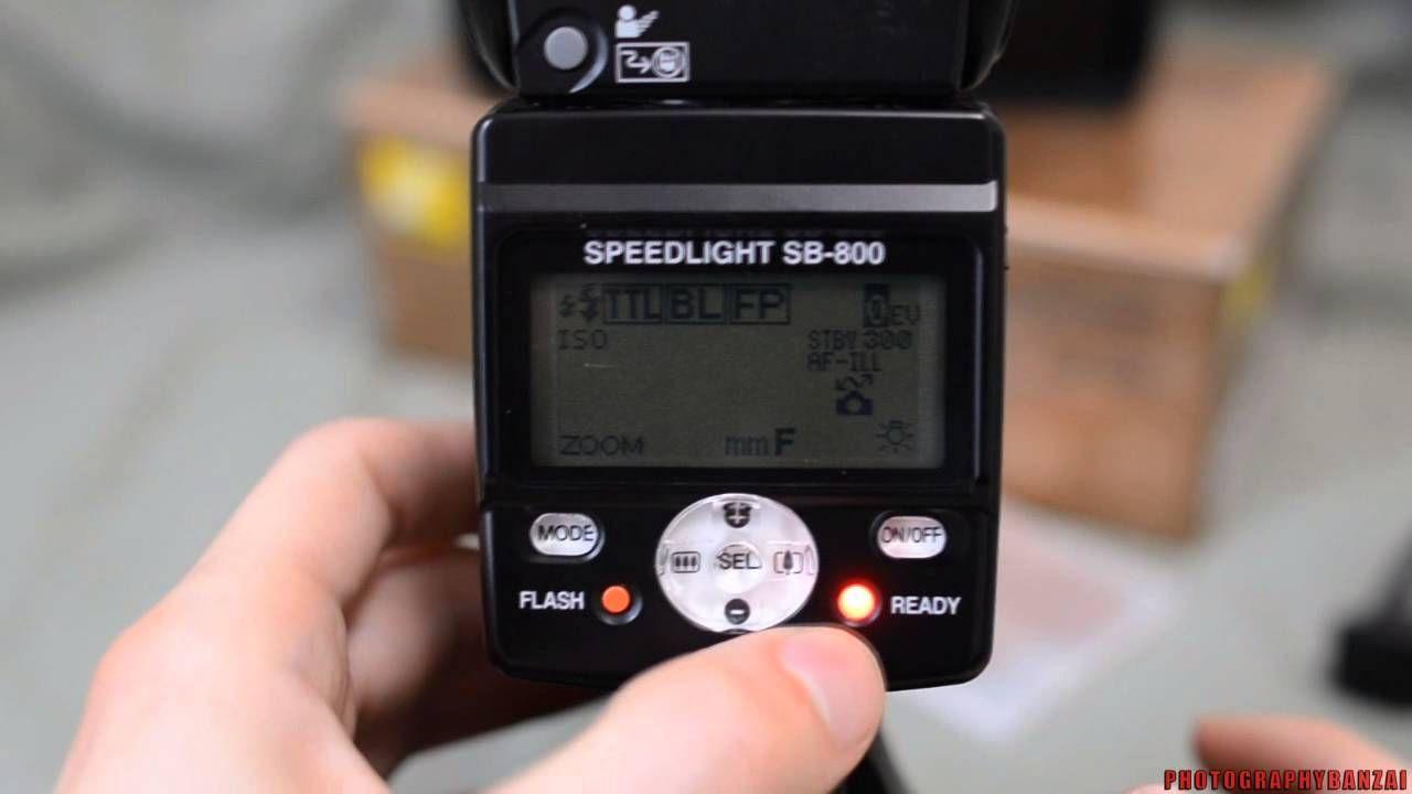 Basic Nikon Sb 800 Speedlight Flash Overview Nikon Sb 800 E Book Photo Tips