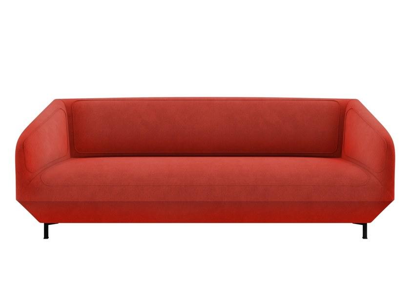 Dressed Sofa By Tacchini Design Luca Nichetto Fabric Sofa Design Sofa Types Of Sofas