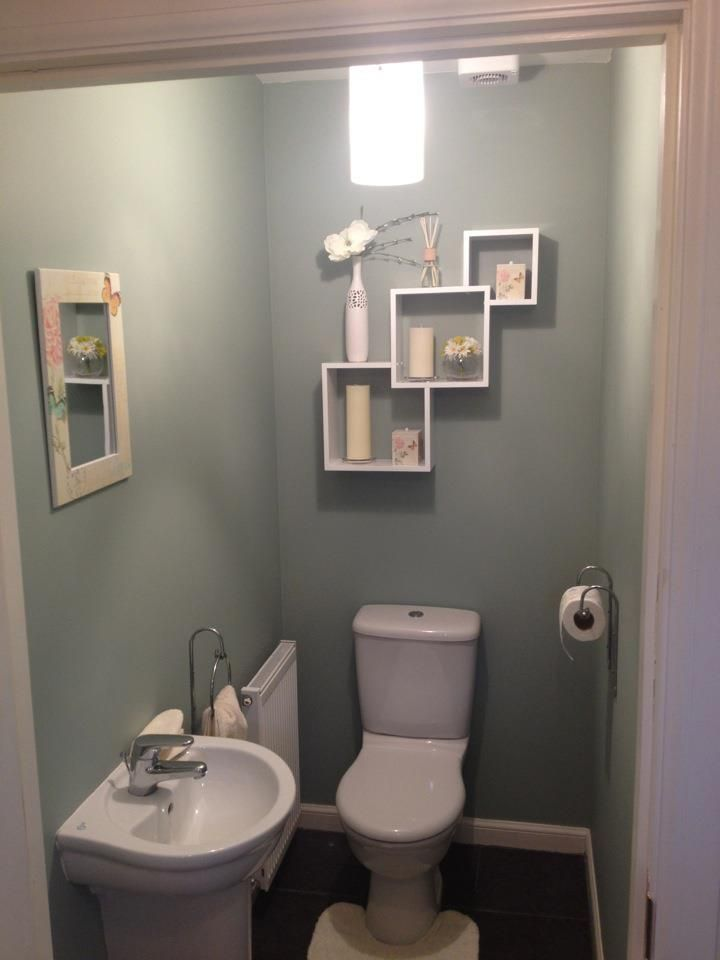 My downstairs toilet. Took some effort but we got there :) | Home ...