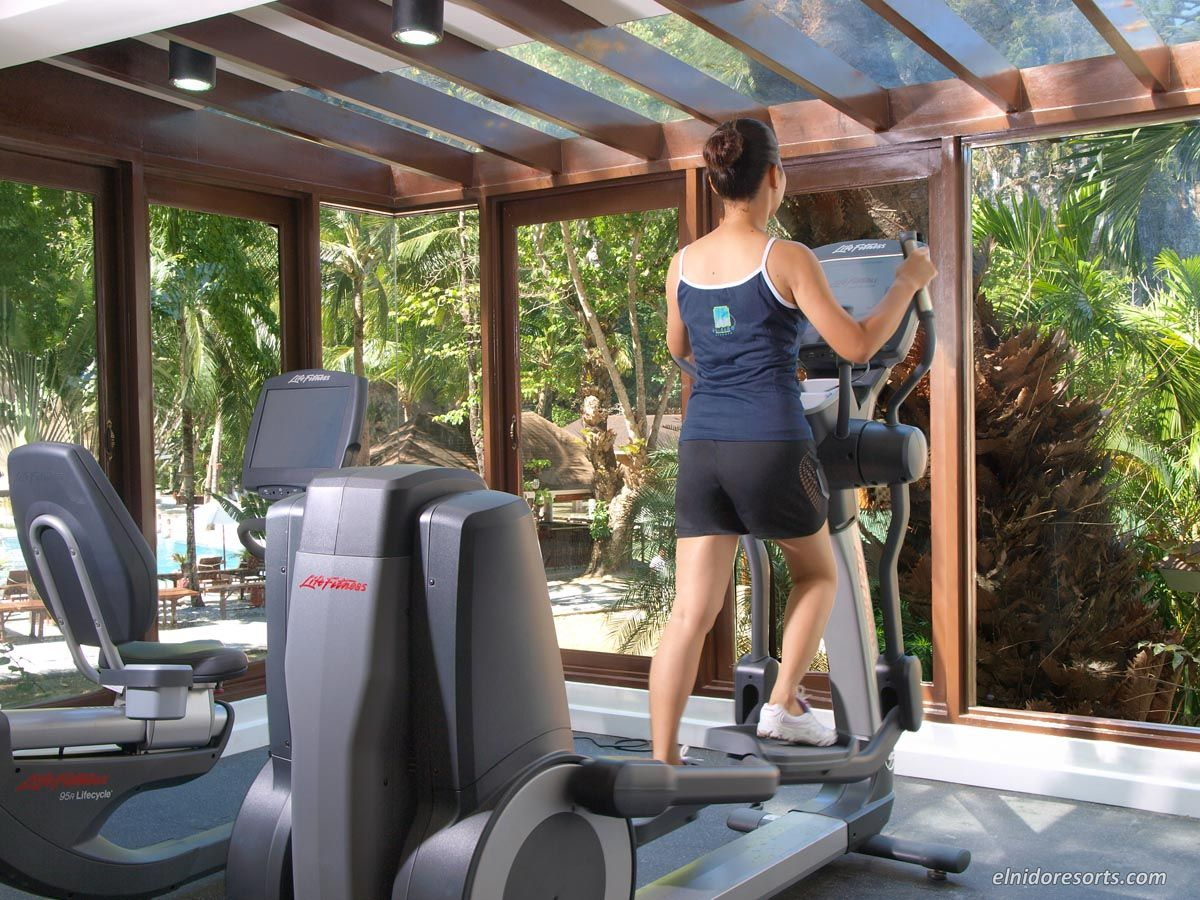 Lagen Island Gym Room Air Conditioning Resort Hotels And Resorts