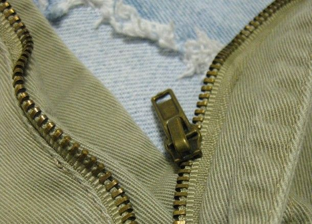 Zipper Repair Pin