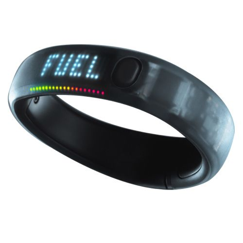 Measure your daily activity, track steps, calories, and time of day, see your progress, and more with the Nike+ FuelBand.