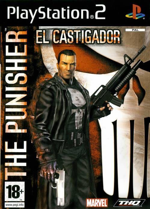 The Punisher Ps2 Punisher Punisher 2004 Marvel Video Games