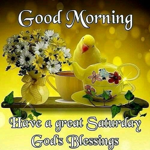 Good Morning Happy Saturday Gods Blessing Pictures, Photos