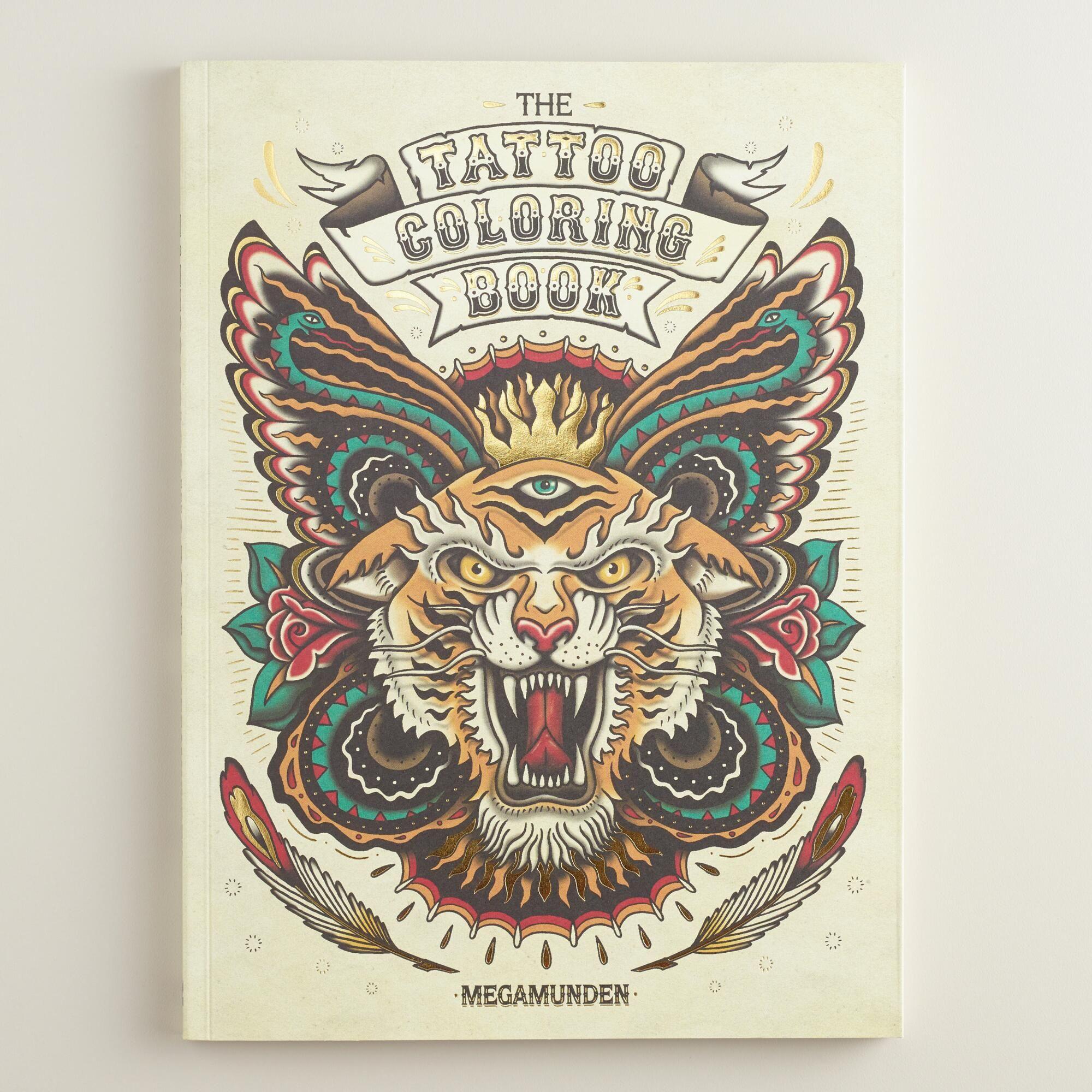 The Tattoo Coloring Book Tattoo Coloring Book Book Tattoo Coloring Books