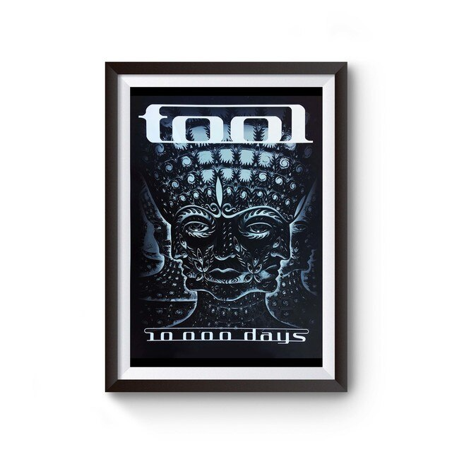 Tool Band 10000 Days Poster
